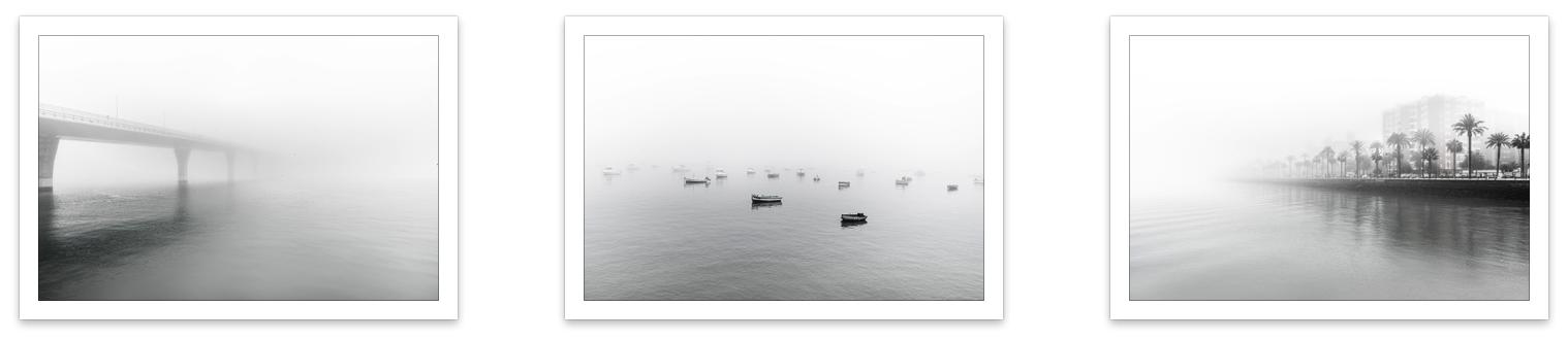 Bahía En La Niebla