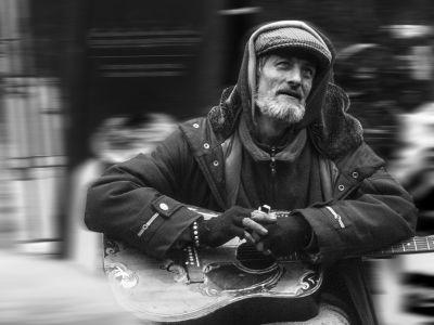 El mendigo músico