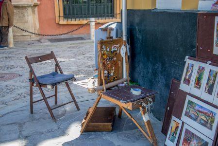 Útiles de pintor