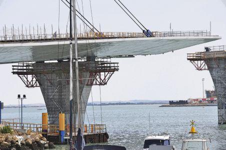 Cádiz- Puente de la Constitución de 1812 - Detalle constructivo