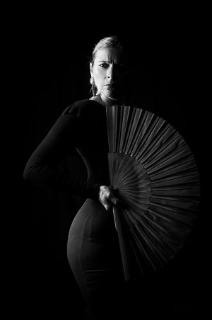 Flamenca con Pericón