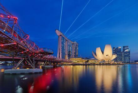 Espectáculo deslumbrante (Singapur)