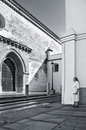 A las puertas