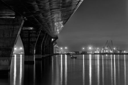 Bajo puente La Pepa