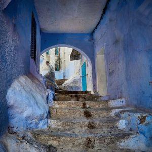 Marruecos azul