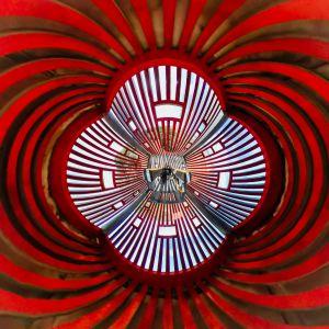 Mandala Rojo