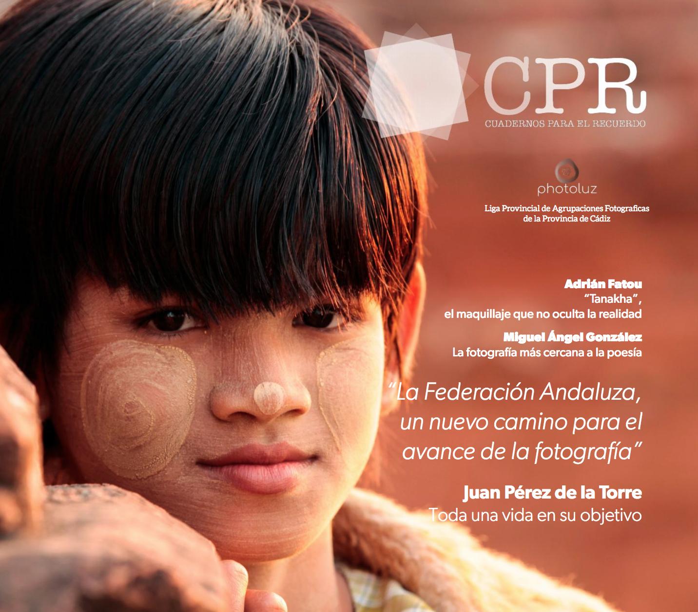 CPR Cuadernos para el recuerdo, nuevo proyecto de Photoluz