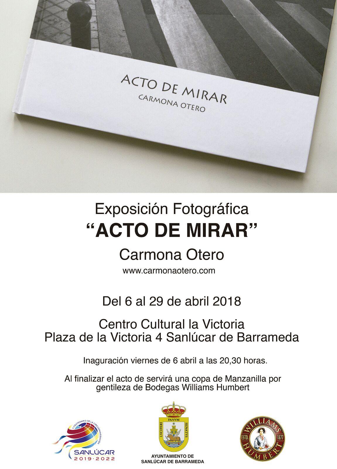 """""""Acto de mirar"""" exposición de Carmona Otero en Sanlúcar"""